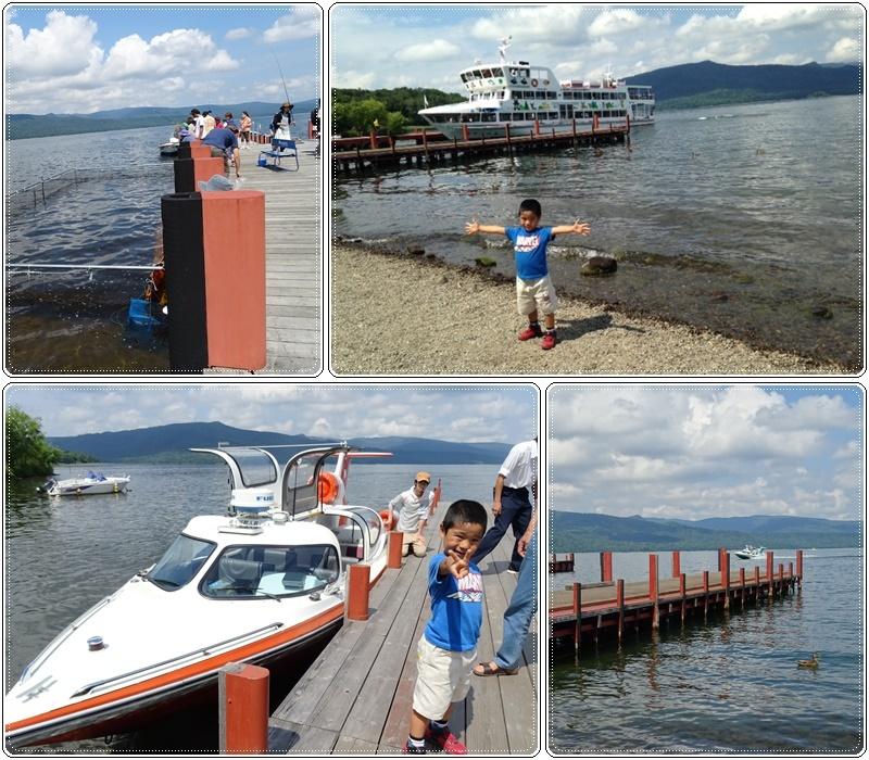 9)阿寒湖でモーターボート_b0236665_06213045.jpg