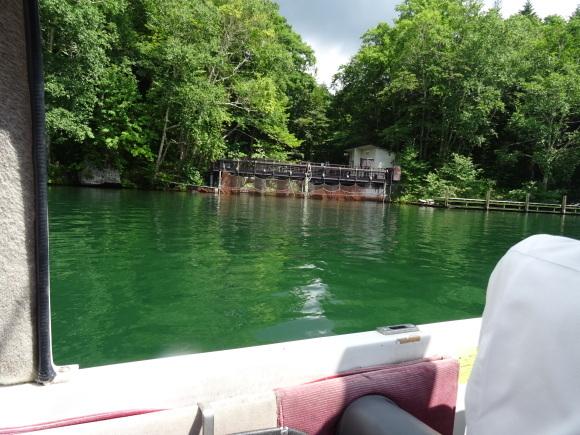 9)阿寒湖でモーターボート_b0236665_06374879.jpg