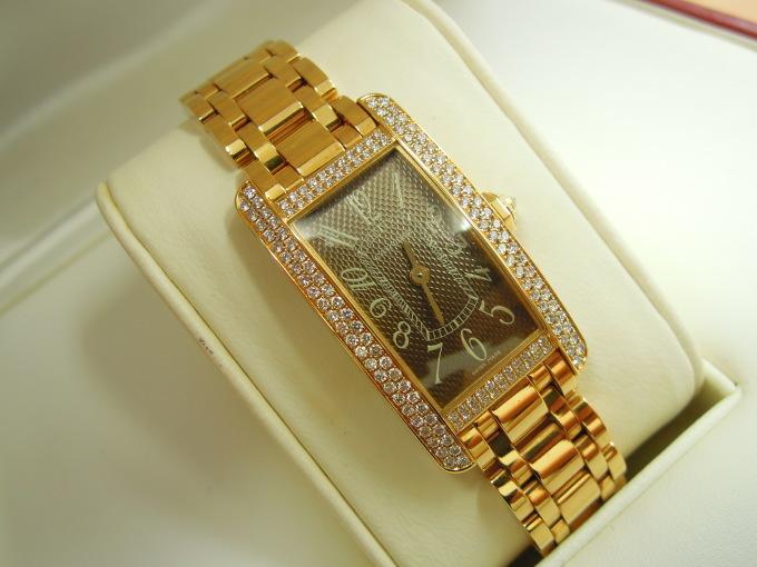 連日の時計買取ラッシュが止まりません! カルティエ・タンクアメリカン!_b0252951_18262518.jpg