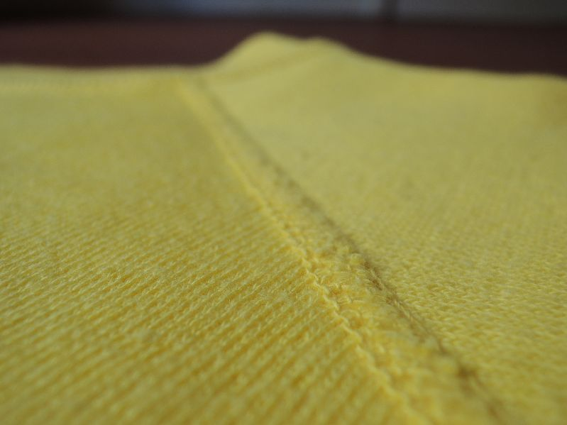 60S~ SOLID SWEAT SHIRT YELLOW--RECOMMEND--_c0176867_14534821.jpg