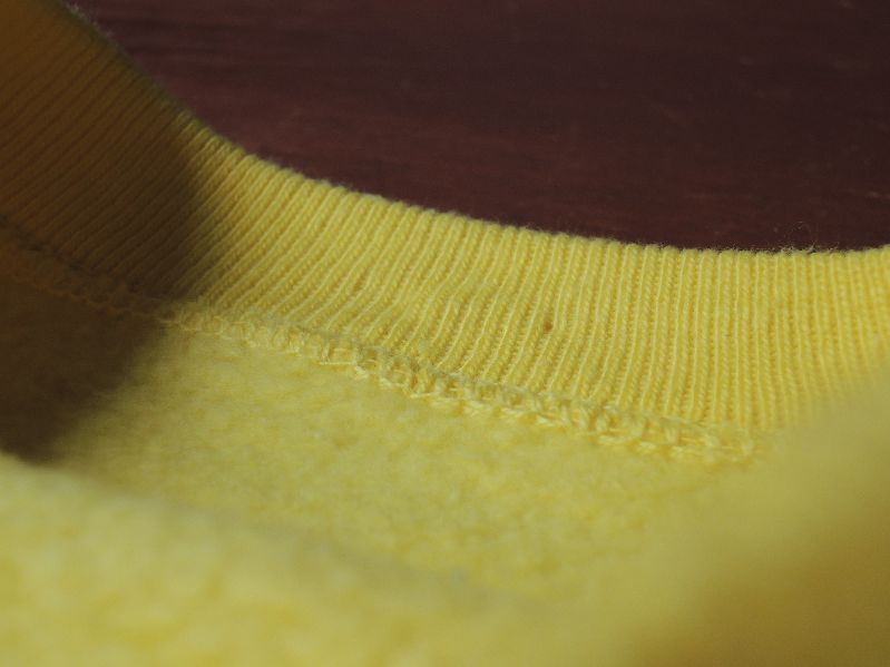60S~ SOLID SWEAT SHIRT YELLOW--RECOMMEND--_c0176867_1453987.jpg