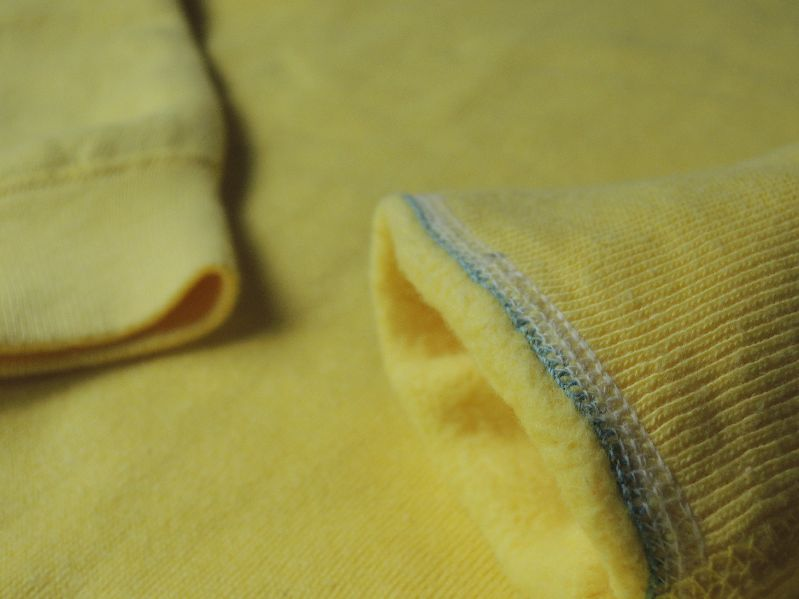 60S~ SOLID SWEAT SHIRT YELLOW--RECOMMEND--_c0176867_150216.jpg