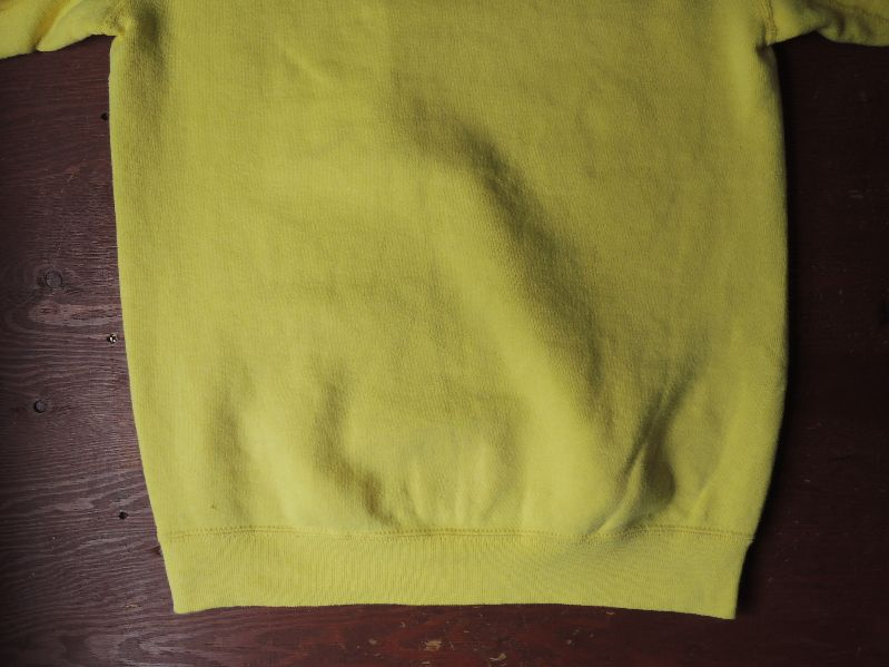 60S~ SOLID SWEAT SHIRT YELLOW--RECOMMEND--_c0176867_1533426.jpg