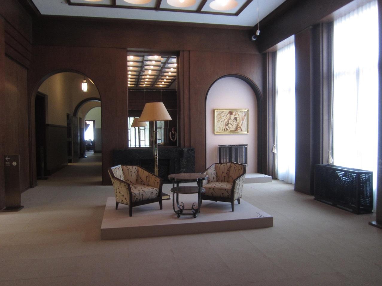 東京都庭園美術館「アール・デコの邸宅美術館」_e0344611_11412400.jpg
