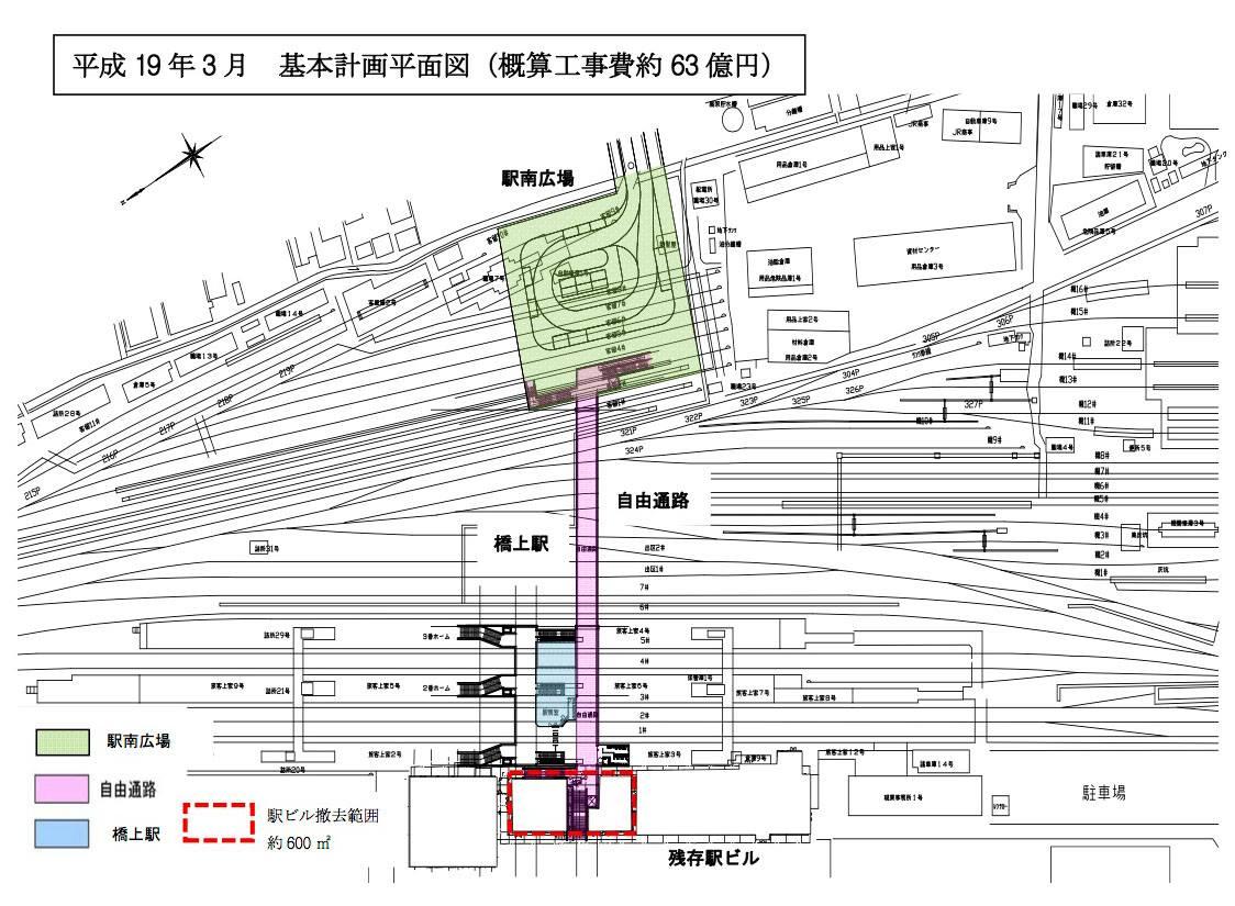 米子駅南北自由通路等整備事業の経緯について : よなごデザイン会議