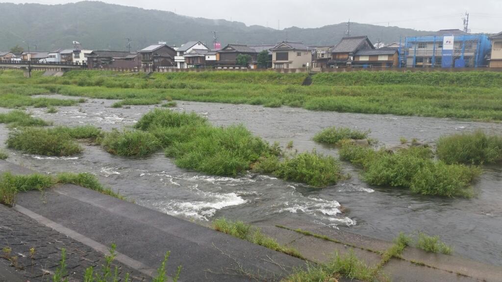 8月25日   河川状況。_c0266737_17284403.jpg
