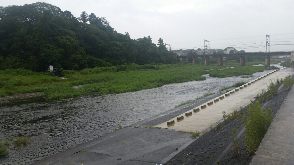 8月25日   河川状況。_c0266737_17284753.jpg