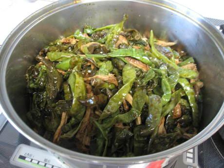 南蛮やしし唐で定番の常備菜作り_a0279743_14462975.jpg