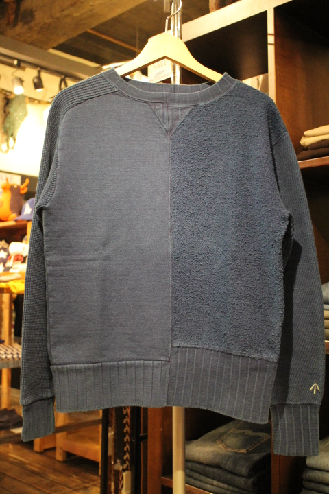 "Nigel Cabourn \""Army Crew Jersey Mix Sweatshirt\""_b0121563_2024241.jpg"