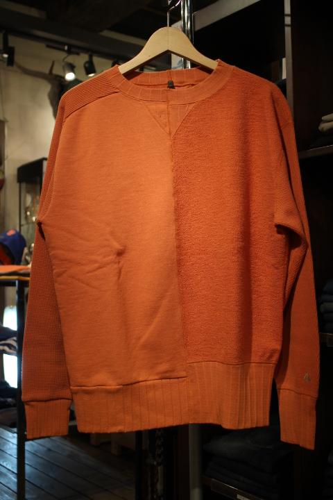 "Nigel Cabourn \""Army Crew Jersey Mix Sweatshirt\""_b0121563_2024439.jpg"