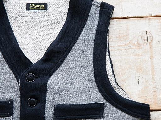 Classic Style Ease Sweat Vest_d0160378_17595088.jpg