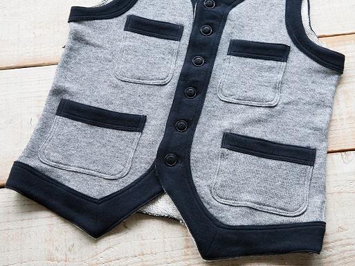 Classic Style Ease Sweat Vest_d0160378_17595554.jpg