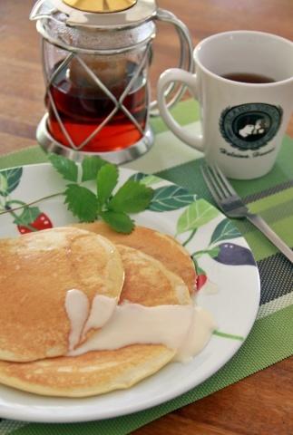◆エッグスン・シングスのパンケーキを焼いてみました。_e0154682_23101010.jpg
