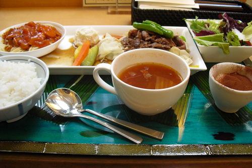 食彩厨房ジャルダン 『スライスビーフ焼肉』_a0326295_2230233.jpg