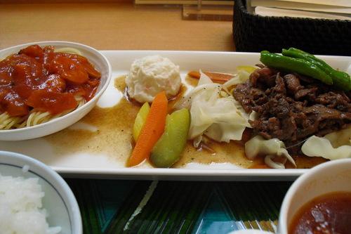 食彩厨房ジャルダン 『スライスビーフ焼肉』_a0326295_2233333.jpg