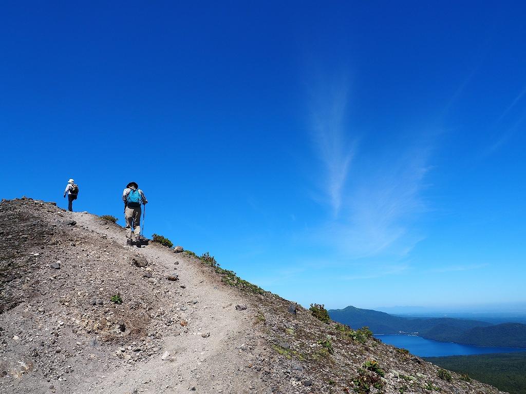 樽前山(932m峰)、8月25日-速報版-_f0138096_1556686.jpg
