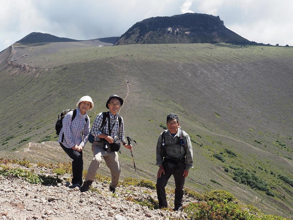 樽前山(932m峰)、8月25日-速報版-_f0138096_1557097.jpg