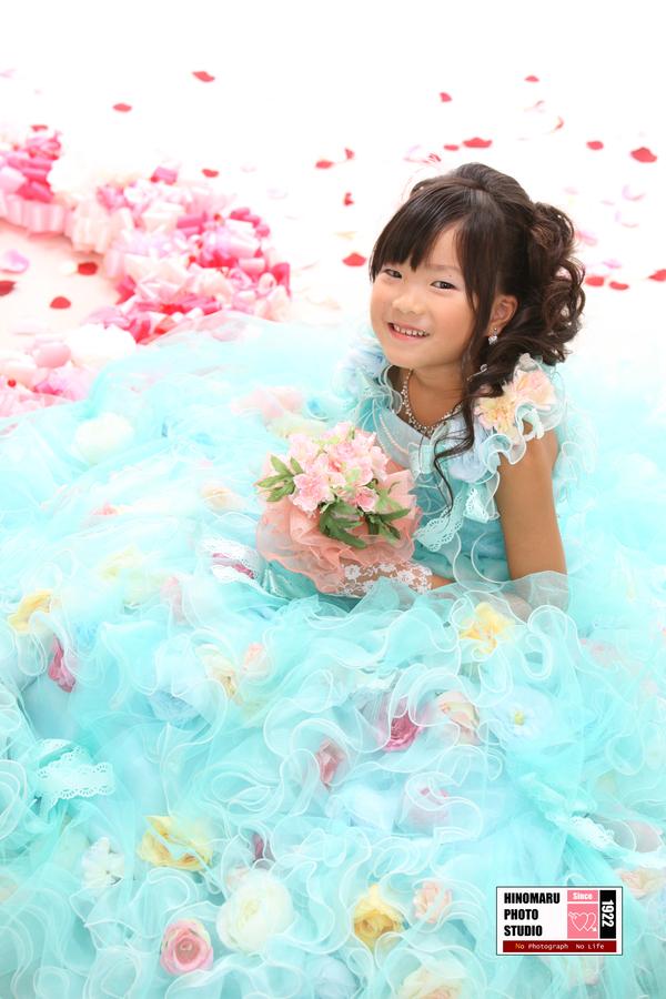 ゆうりちゃん☆ドレス_b0203705_1493227.jpg