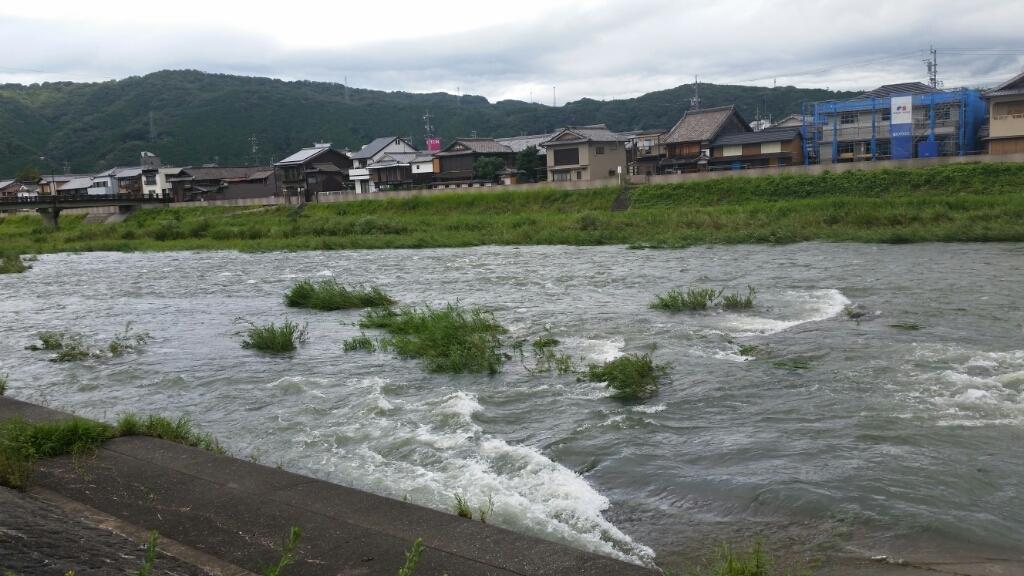 8月26日   河川状況。_c0266737_09163729.jpg