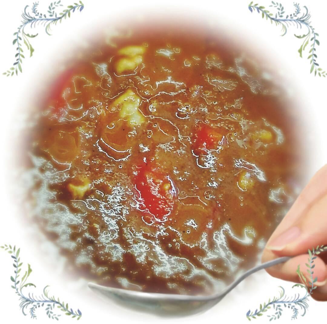 豚肉とトマトのカレー_d0256356_18034172.jpg