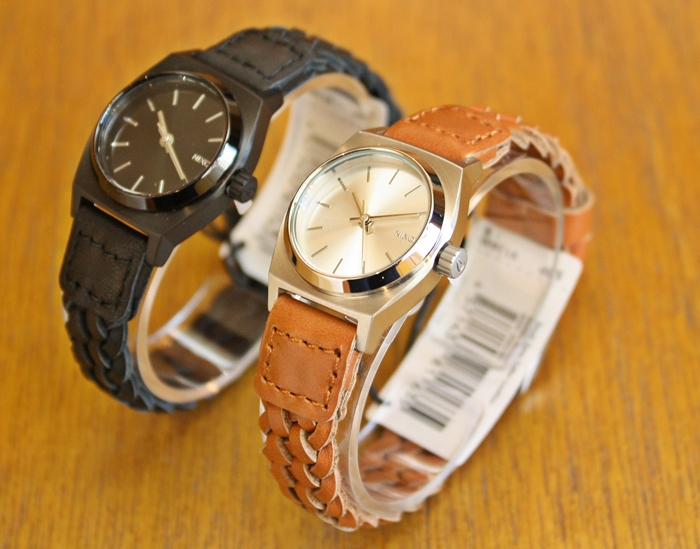 「NIXON SMALL TIME TELLER LEATHER、K SQUARED、FACET 38、BULLET LEATHER」_f0208675_17103114.jpg