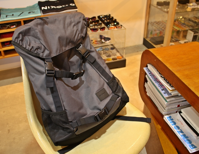 「NIXON MAKERS BACKPACK、LANDLOCK BACKPACK SE」_f0208675_17213030.jpg