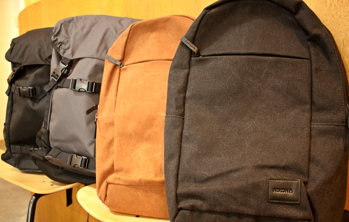 「NIXON MAKERS BACKPACK、LANDLOCK BACKPACK SE」_f0208675_17214250.jpg