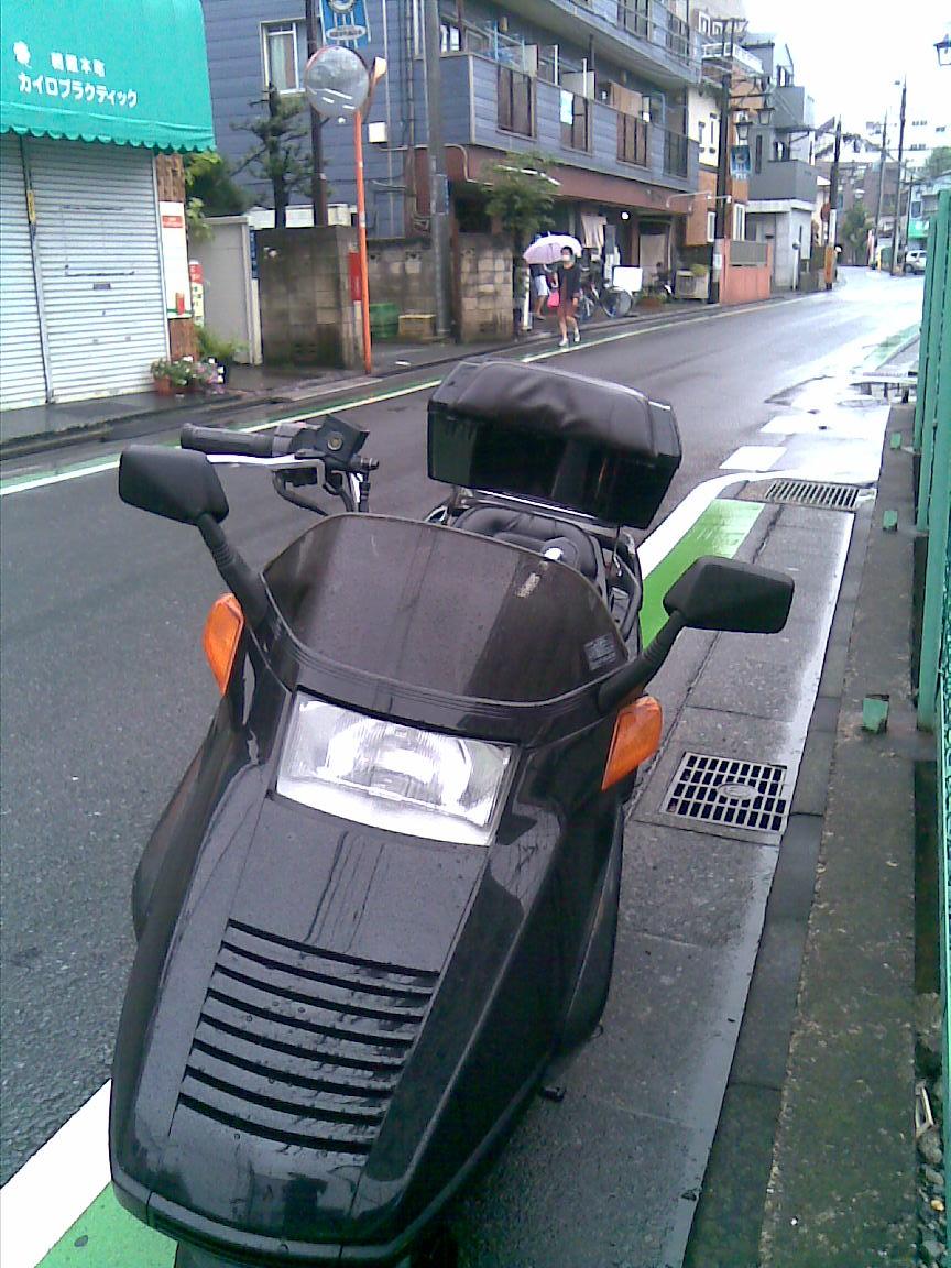 半袖でバイクは寒い、降り続く雨で本日も引きこもり_d0061678_178437.jpg