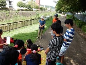 2015山科川ガサガサ探検隊+川の安全講習_e0008880_16274892.jpg