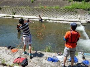 2015山科川ガサガサ探検隊+川の安全講習_e0008880_16291537.jpg