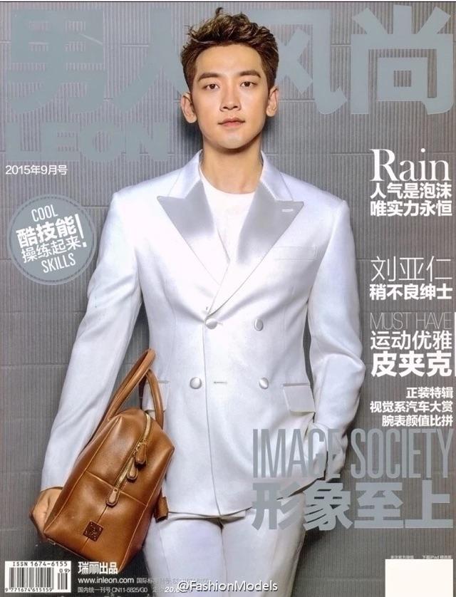 Rain 男人风尚 Leon Magazine _c0047605_7572449.jpg