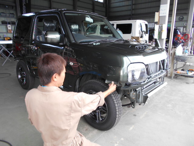 新車 JB23 ジムニー ランドベンチャー 作製中(*゚▽゚*)_c0213517_14151738.jpg