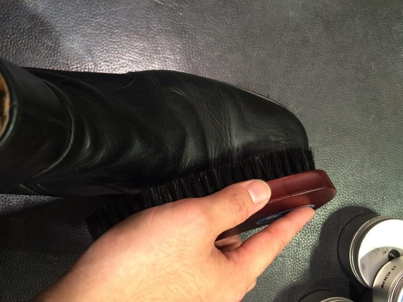 ずっとしまっていたブーツをお手入れ_b0226322_11015916.jpg