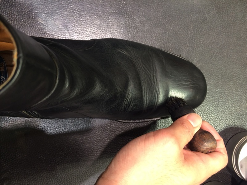ずっとしまっていたブーツをお手入れ_b0226322_11020833.jpg