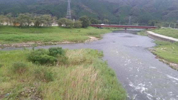 8月27日午前7時の河川状況。_c0266737_07210728.jpg