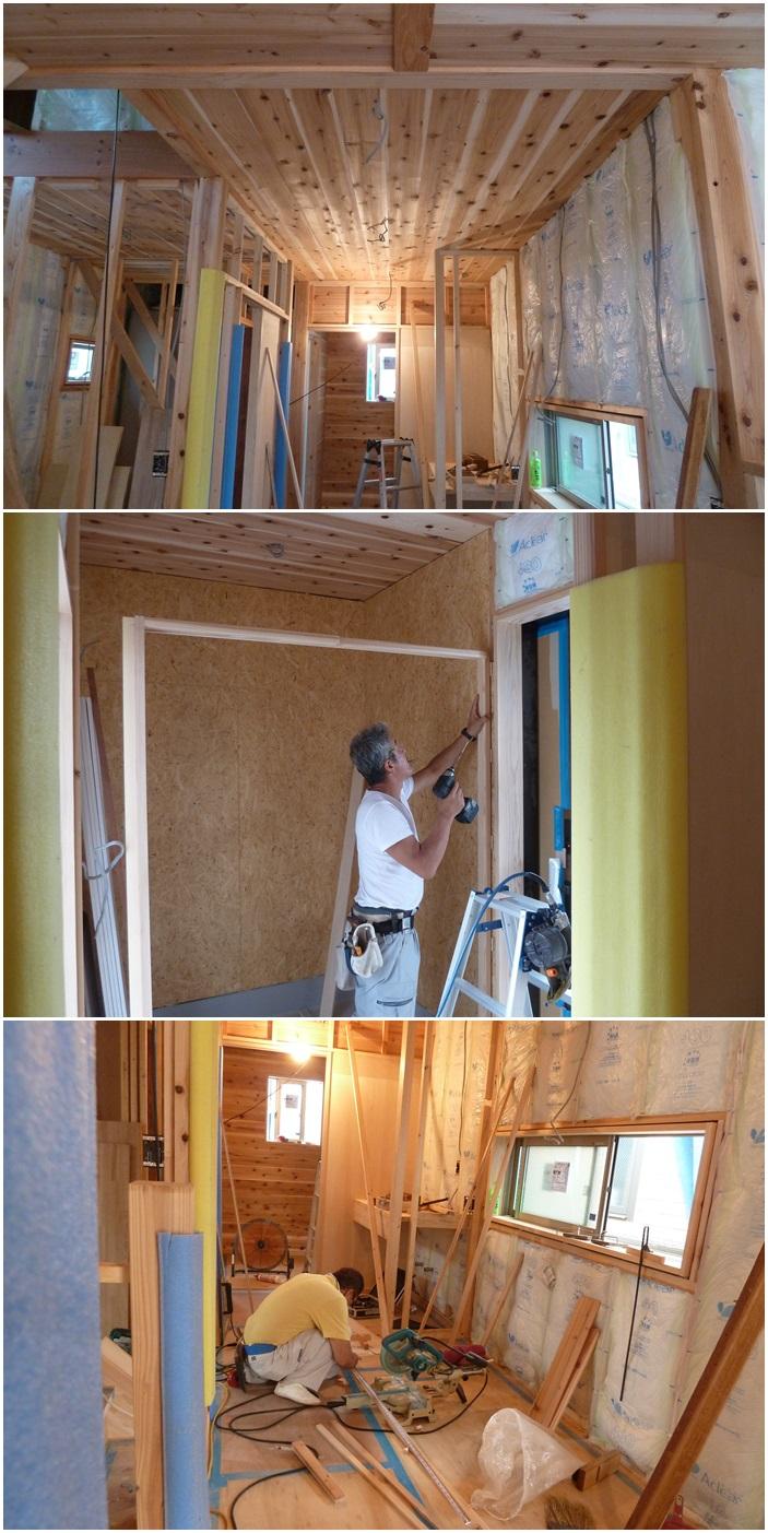 厚木市の家☆大工工事も順調に進行中_c0152341_854099.jpg