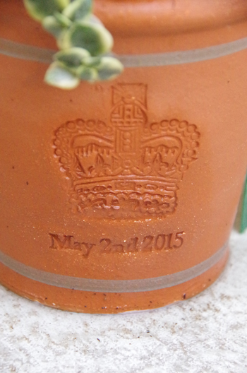 New pot   Royal Baby Pot _d0229351_17552859.jpg
