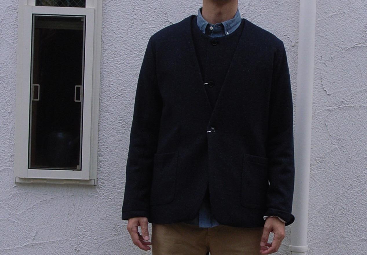 STILL BY HAND ウール と シルク のジャケット と ベスト_d0334060_14372264.jpg