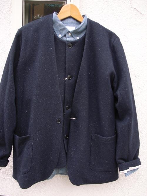 STILL BY HAND ウール と シルク のジャケット と ベスト_d0334060_1437266.jpg
