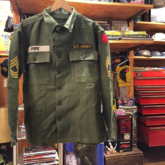 今日のイチ押し!!『US ARMY Utility Shirt』_b0121563_21323479.jpg