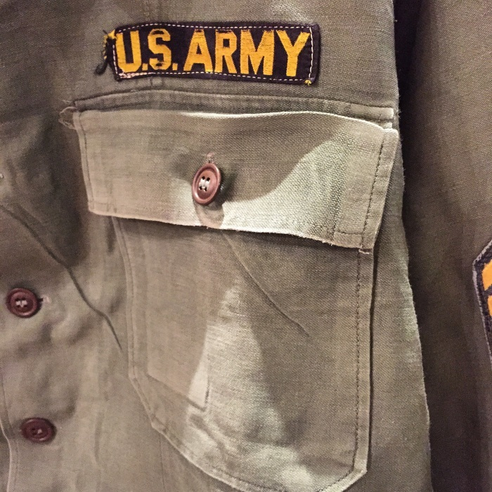 今日のイチ押し!!『US ARMY Utility Shirt』_b0121563_21333971.jpg