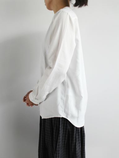 niuhans Double Cloth CottonStand Collar Shirt (LADIES ONLY)_b0139281_1450101.jpg
