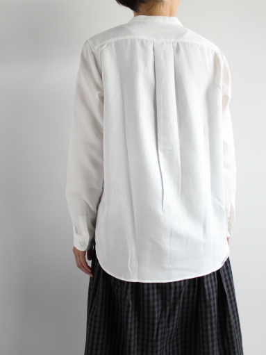 niuhans Double Cloth CottonStand Collar Shirt (LADIES ONLY)_b0139281_145028100.jpg