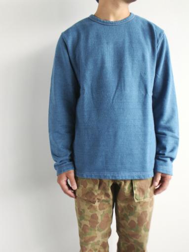 niuhans Indigo Dye L/S Sweat Shirt_b0139281_1530352.jpg