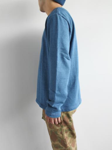 niuhans Indigo Dye L/S Sweat Shirt_b0139281_1531129.jpg