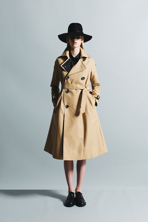 IN STORE NOW! THE RERACS TRENCH COAT_f0111683_12053411.jpg