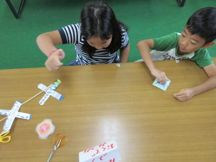 おもちゃ作り in 深日小学校学童保育    by   (ナベサダ)_f0053885_19595512.jpg