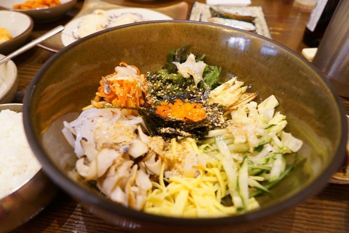 2015年釜山旅レポ最終回。さよなら釜山、海雲台の「元祖アワビ粥 本店」で朝ごはん_a0223786_1122535.jpg