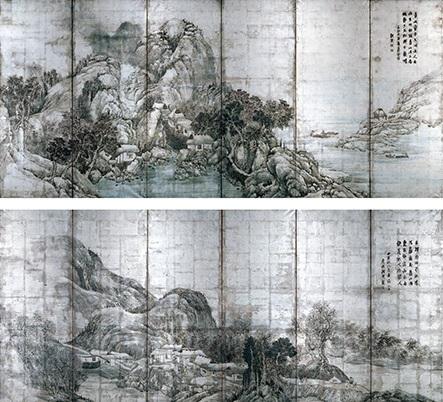 蕪村と若沖・モノトーンの世界_a0131787_141444.jpg