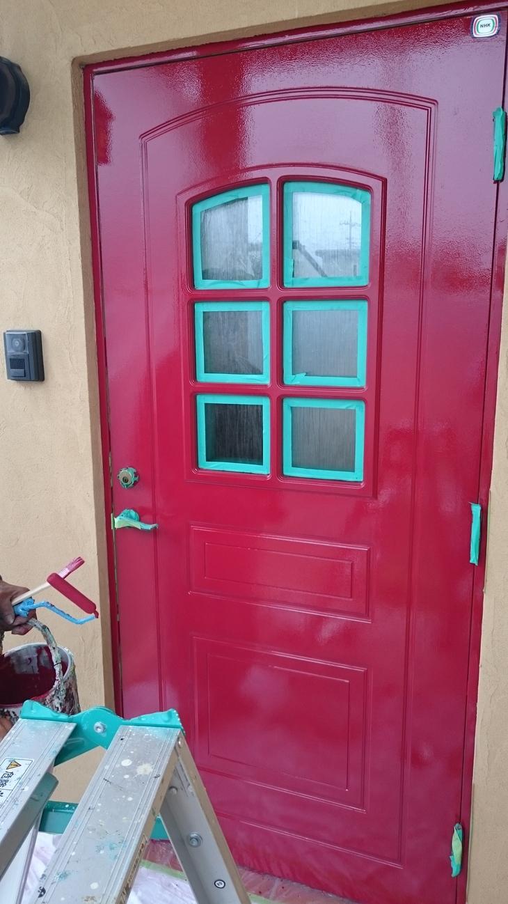 ドアのメンテ_c0066693_1410185.jpg